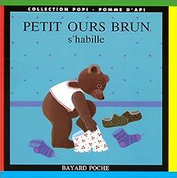 Petit ours brun s'habille