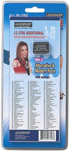 Leadsinger LS-3C02 Alternative Modern Rock Cartridge for LS-3000 Series Karaoke System (150 Songs)