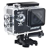 ABLEGRID-AG9000-30-meter-Waterproof-16MP-20-inch-WIFI-Ultra-HD-4K-Sports-Action-Camera-with-170-wide-Angle-Lens-Black