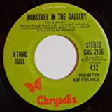 minstrel in the gallery / mono 45 rpm single