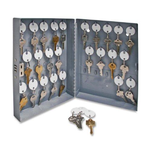 sparco-key-cabinet-combination-lock-10x3x12-28-keys-gray-sold-as-1-each-spr15600