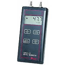 Dwyer Series 477 Handheld Digital Manometer, 0-150.0 psi Range, FM Approved