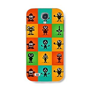 Cute Little Monsters Phone case for Samsung Galaxy S4