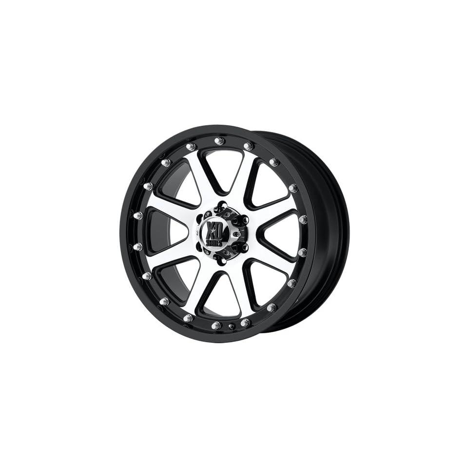 18x9 KMC XD Addict (Matte Black / Machined) Wheels/Rims 8x180 (XD79889088518)