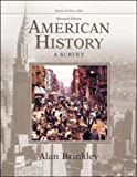 American History: A Survey, Volume 2 MP w/PowerWeb (0072490535) by Brinkley, Alan