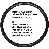 Kitchen Mart Gasket Suitable For Prestige Clipon Pressure Cookers, Suits 3Ltr, 5 Ltr, Kadai And Handi Clipon Pressure...