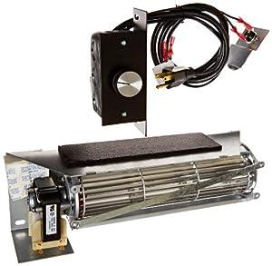 Fireplace Blower Kit For Lennox Superior Fbk 250 Rotom Hbrb250 Home Improvement
