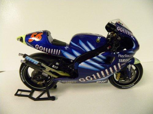 1/12 Scale Minichamps MotoGP 2002 Yamaha YZR 500 #56 Shinya Nakano Team Gauloises