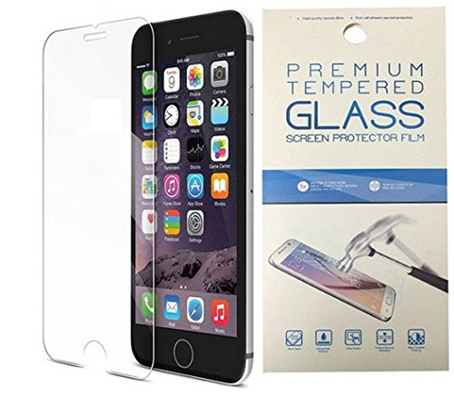 iPhone 6 /6s Screen Protector, NEWC® Premium Tempered Glass Screen Protector (4.7 inch) 9H Hardness and Easy Bubble-Free Installation for Apple Tempered Glass iPhone 6 / 6S