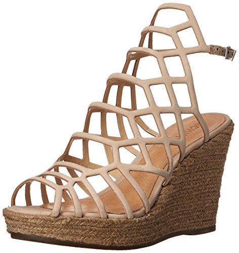 Schutz Women's Marilyn Espadrille Wedge Sandal, Oyster, 7 M US (Schutz Shoes compare prices)