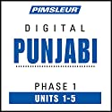 Punjabi Phase 1, Unit 01-05: Learn to Speak and Understand Punjabi with Pimsleur Language Programs Hörbuch von  Pimsleur Gesprochen von:  Pimsleur