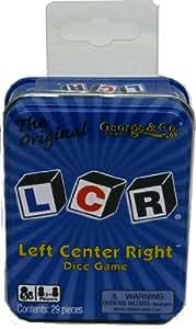 LCR® Left Center RightTM Dice Game - Blue Tin