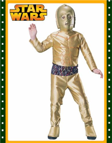Big Boys' C3po Costume