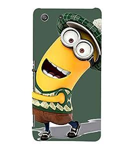 Funny Character 3D Hard Polycarbonate Designer Back Case Cover for Sony Xperia M5 Dual :: Sony Xperia M5 E5633 E5643 E5663