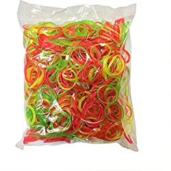 Flexi Rubber Bands - 1 inch Diameter - 800 pcs