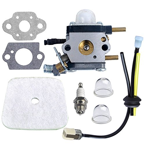 Cheap Amazingli Carburetor Carb with Air Filter + Spark Plug + Gaskets + Primer Bulb Repower Kit C1U...