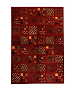 Design Community By Loomier Alfombra In Mirzapur (Rojo/Multicolor)