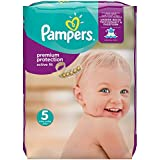 Pampers Active Fit Size 5 (Junior) Monthly Pack - 136 Nappies