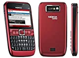 Original Genuine Nokia E63 Unlocked Full Keyboard 3 G Smart Business Mobile Phon (red)