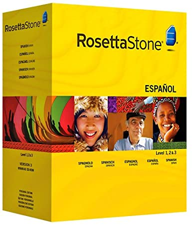 Rosetta Stone Version 3: Spanish (Spain) Level 1, 2 and 3 Set with Audio Companion (Mac/PC CD)