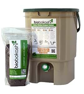 Bio Bokashi Indoor Kitchen Composter Kit