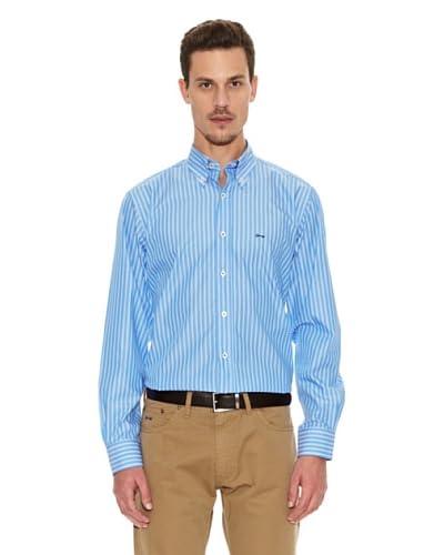 Tenkey Camisa Baldwin Azul