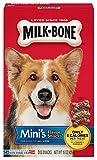 Milk-Bone Mini's Flavor Snacks Dog Treats, 15-Ounce (Pack of 6)