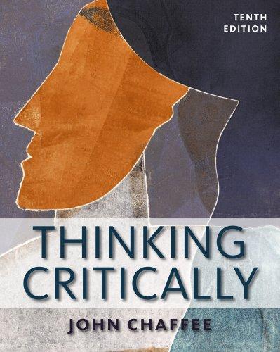 thinking critically john chaffee