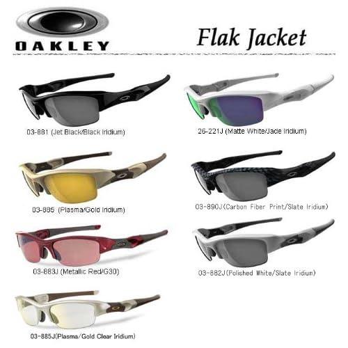 (オークリー) OAKLEY USAモデル フラックジャケット サングラス 03-881J(JetBK/BlackIridium)
