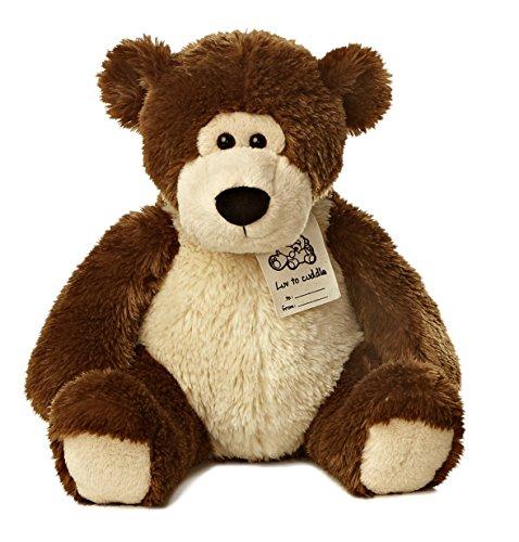 Aurora World - Luv to Cuddle Bear - Soft and Snuggly Plush Stuffed Animal - Dark Brown, Large (Dora Teddy Bear compare prices)