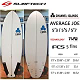 """SURF TECH サーフテック CHANNEL ISLAND チャンネルアイランド AVERAGE JOE アベレージジョー (5'7"""", 店頭在庫)"""