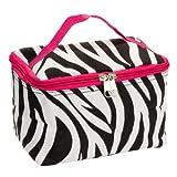 "7"" Cosmetic Case Womens Teens Girls Travel School Makeup Brush Bag"