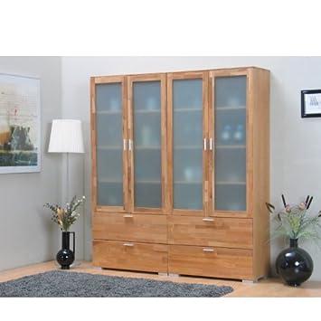 2x vitrine helsinki hochschrank vitrinenschrank wohnzimmer. Black Bedroom Furniture Sets. Home Design Ideas