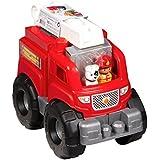 Mega Blocks Fire Truck Rescue, Multi Color