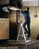 Youngman 7 Tread Class 1 Alloy Builders Step Ladder Aluminium Tradex Tools Ltd Special