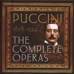 Puccini : Intégrale des opéras (Coffret 20 CD)