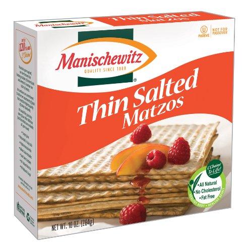 Manischewitz Thin Salted Matzo, 10 Ounce -- 1 Each.