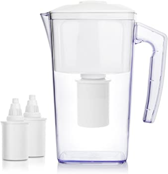 OXA Large 10-Cup 2.5 L Alkaline Water Filter Pitcher