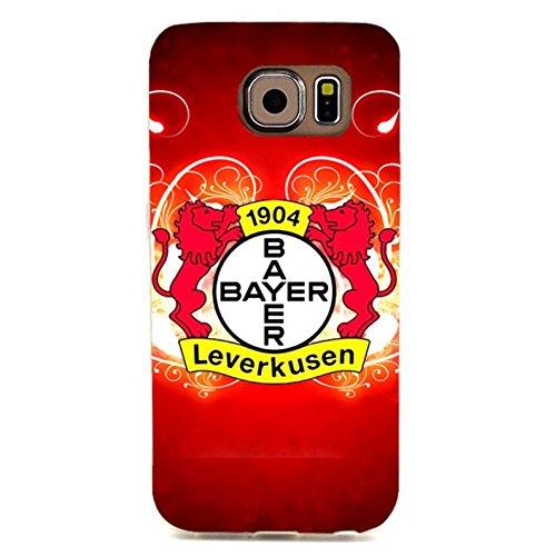 Bayer 04 Leverkusen Fu?ball GmbH Phone Case Hot Durable 3D Phone Shell snap on Samsung Galaxy S6 Edgewith Team Logo