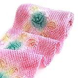 有松鳴海絞しぼり浴衣反物「ピンク地に総絞りでバラ柄」一級和裁技能士の国内手縫いお仕立て付絞りゆかた薔薇ばら