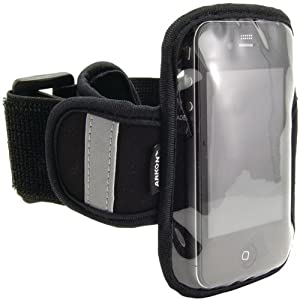 AWM Arkon Sm-Armband Sports Armband For Iphone(R) 4, Ipod Touch(R), Htc(R) Evo 4G, Blackberry(R), Motorola(R) Droid(Tm) & Other Smartphones - Mounts