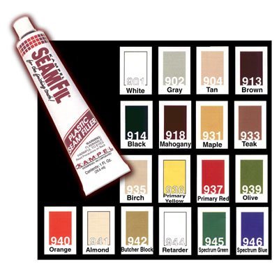 SeamFil SF913 Original Laminate Repair, 1 oz Tube, Brown