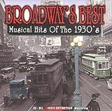 echange, troc Various Artists - Broadways Best: Musical Hits of 1930's