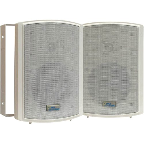 Pyle Home Pdwr6T 6.5-Inch Indoor/Outdoor Waterproof Speakers With 50-Watt 70V Transformer (Pair)