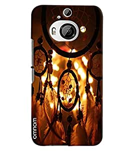 Omnam Beautiful Hanging Architecture Printed Designer Back Cover Case For HTC One M9 Plus