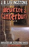 Meurtre � Canterbury par Jacq