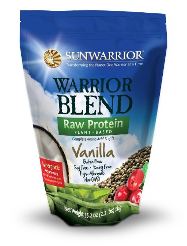 Christmas Sun Warrior Warrior Blend Plant-Based Complete Protein Powder 500 g, Vanilla Deals