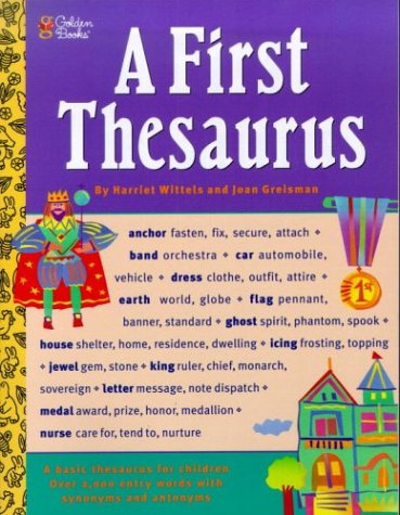 Image for A First Thesaurus