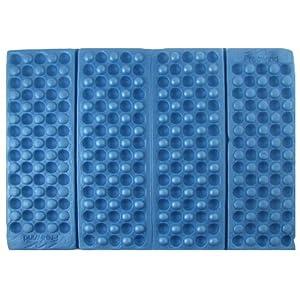 Blue Foldable Folding Foam Waterproof Chair Cushion Seat Pads