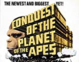 Conquest of the Planet of the Apes Movie Poster (22 x 28 Inches - 56cm x 72cm) (1972) Half Sheet -(Roddy McDowall)(Don Murray)(Ricardo Montalban)(Natalie Trundy)(Severn Darden)(Hari Rhodes)